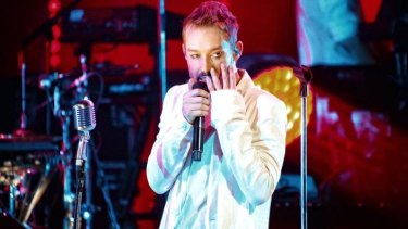 Daniel Johns performs at his sold-out Vivid Live show in May.