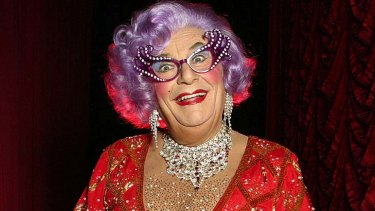 Value ... Dame Edna came with a hefty price tag.