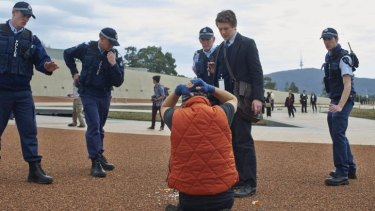 The ABC's new drama, set in Canberra and the outback, rated in the top 10 on its debut.
