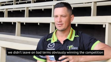 New Sydney Thunder signing Chris Tremain says he left the Renegades in search of more game time. #BBL
