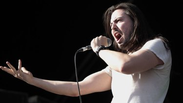Andrew WK really got the party started at The Bakery last week.