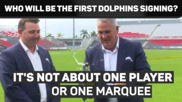 @dolphinsnrl CEO Terry Reader says the club will be actively looking to sign players from November 1.