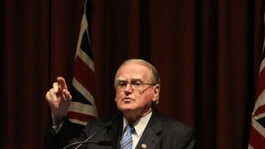 Worried ... NSW Christian Democrats leader Fred Nile.