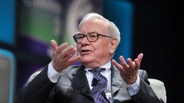 Big bet: Billionaire Warren Buffett.