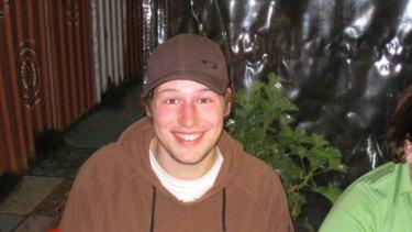Missing German backpacker Jan-Christian Bielenberg.