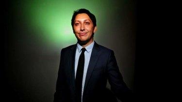 Greens candidate Simon Sheikh.