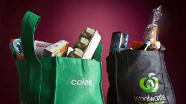 Businessman Dick Smith says multi-national companies are to blame for the huge drop in food prices at supermarkets, not Coles and Woolworths.