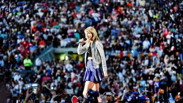 Taylor Swift performs during her 1989 World Tour live Pennsylvania in June.
