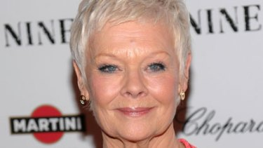 Nothing like a dame ... Judi Dench.