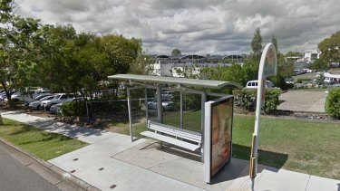The Mount Gravatt Plaza bus stop