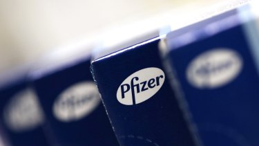 Pfizer has an estimated $US74 billion in cash stored offshore.