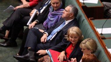 Joe Hockey in Parliament on Wednesday.