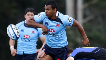 Hard man to pin down ... Kurtley Beale.
