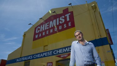 Co-founder Damien Gance said Chemist Warehouse was upset it had been targeted.