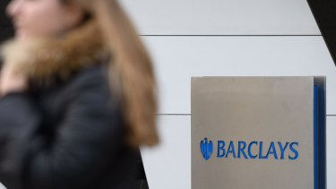 UK banks were hit particularly hard, with Barclays losing 18 per cent.