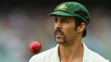 Mitchell Johnson just happens to call Perth home.