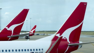Qantas' domestic capacity growth will be up to 1.5 per cent lower.