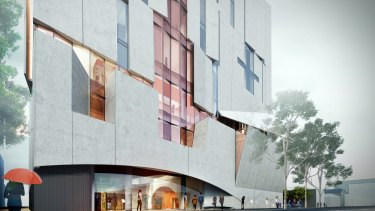 A new conservatorium will put staff and students closer to many other arts organisations.