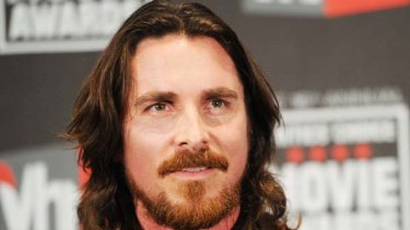 Lashing out ... Christian Bale