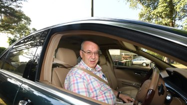Eddie Obeid earlier this week.