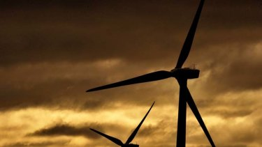 New wind farms ... made up 41 per cent of the new energy investment either begun or commited in the year to October.