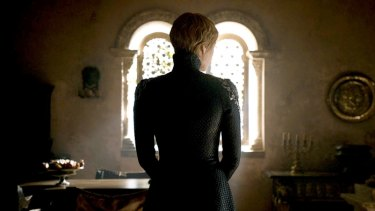 Cersei's ever so cool snake-like outfit defied that of a victim in the Game of Thrones finale.