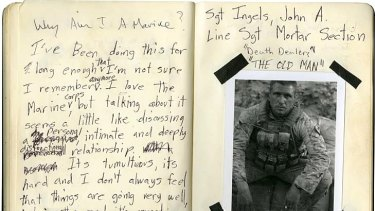 Call of duty ... Stephen Dupont's <em>Why Am I a Marine</em> portrait, shot in Afghanistan, was a joint winner of last year's Head On photographic prize.