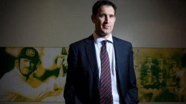 Needs more time: Cricket Australia CEO James Sutherland.