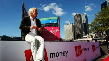 """Man on a mission ... """"There's no question that people are being ripped off in the [Australian] banking sector,"""" Richard Branson says."""