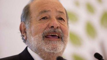 World's richest man ... Carlos Slim.