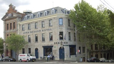 Lord Nelson hotel in The Rocks