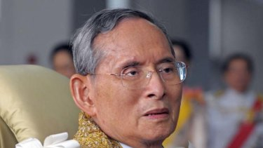 King Bhumibol ... 84 on Monday.