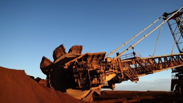 Iron ore prices have rallied to the highest in two years, boosting the shares of mining companies.