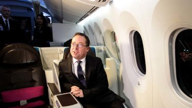"""""""Incentivising people for doing a good job is absolutely the way we have to go"""" ... Qantas CEO, Alan Joyce."""