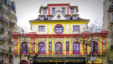 The Bataclan concert hall in central Paris, one of the seven sites targeted by terrorists.