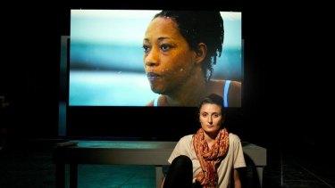 Angelica Mesiti's video, <i>Citizen's Band</i>, features Geraldine Zongo performing akutuk music.