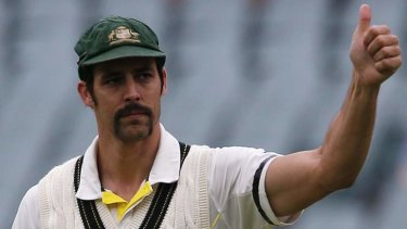 So hot right now: Sources say Mitchell Johnson could command a million-dollar price tag for this season's Indian Premier League, while the fast bowler is also well-placed to capitalise on his profile with sponsorship deals.