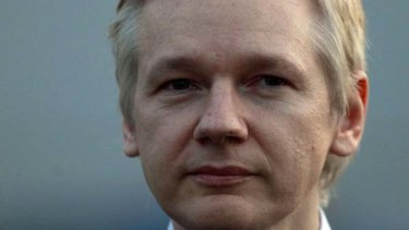 Splendour attraction ... WikiLeaks founder Julian Assange.