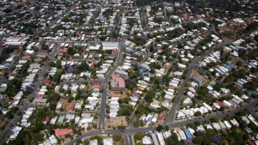 The western suburbs of Brisbane.