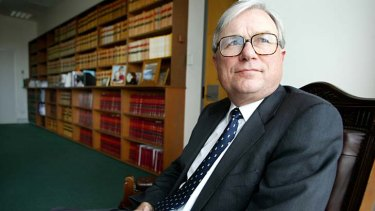 """An """"excellent choice"""" ... Justice Peter McClellan will head the royal commission."""