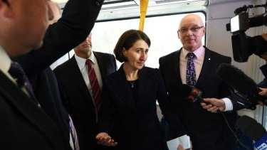 """Gladys Berejiklian: """"We know that many customers from this part of the community want to go to western Sydney."""""""