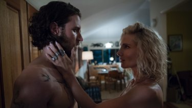 "Elsa Pataky (right) as the ethereal Adrielle, ""queen"" of the cult-like Tidelanders."