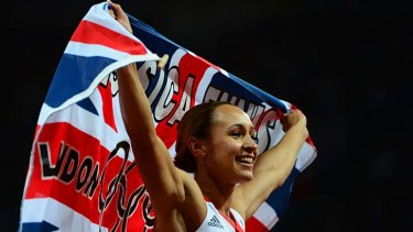 "Jessica Ennis gave the London Games its ""Cathy Freeman moment""."