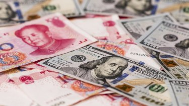 Slowing growth in China is causing the kind of turmoil that fuels investor demand for safe assets such as Treasuries.