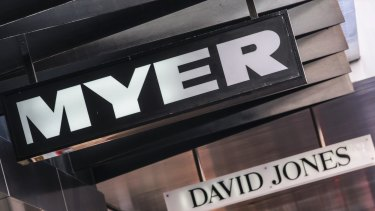Myer said it would close stores in Colonnades in Adelaide, Belconnen in Canberra, and Hornsby in northern Sydney.