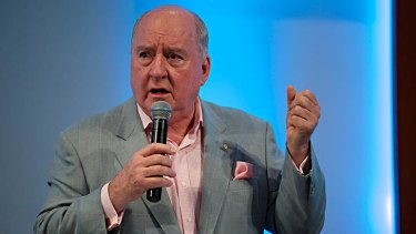 Radio host Alan Jones is a former supporter of Bronwyn Bishop.