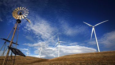 Prime Minister Tony Abbott has called wind farms ugly and noisy: Investment in renewable energy projects has stalled under his government.