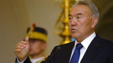 Kazahstan's President Nursultan Nazarbayev garnered 95 per cent of the vote in that country's recent election.