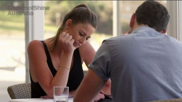 Sent on a lunch date to mend things: Cheryl at least says 'nothing major has changed' with her and Andrew on Married At First Sight.
