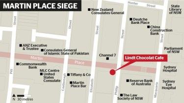 The siege in Sydney.